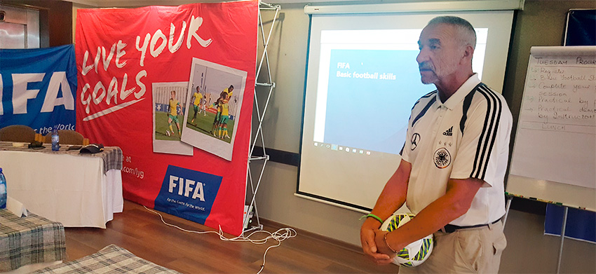 Grassroots is the starting point of development – Boebie Williams