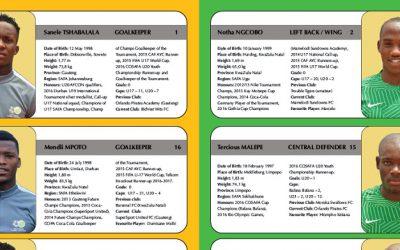 SAFA Release Amajita / U20 AFCON Media Guide