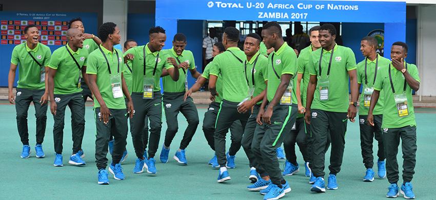 Amajita battle for bronze with Guinea