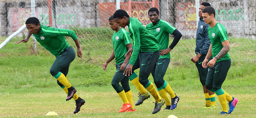 Senong rings major changes for Guinea clash