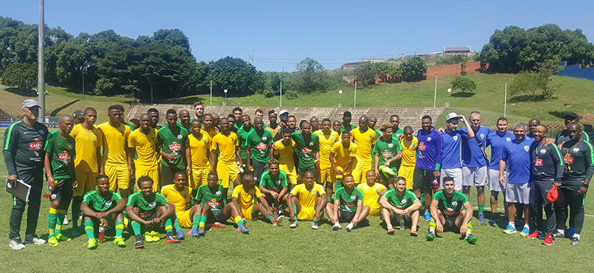 Bafana Bafana defeat Golden Arrows in a practice match