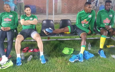 Bafana Bafana quartet doubtful for Angola clash