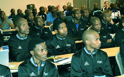 Referees subjected to fitness tests