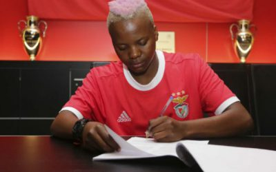 Kgatlana moves from China to Portugal