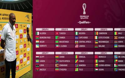 Listen: Ntseki responding to the Qatar 2022 World Cup Preliminary Draw
