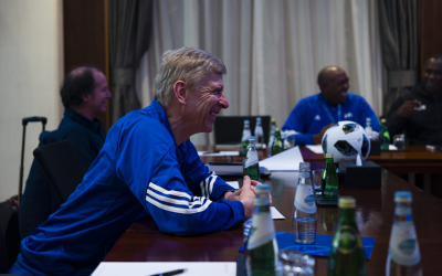Wenger announces launch of FIFA's groundbreaking talent development programme
